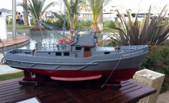 'Deniz Büyücüsü' Bodrum'da Ziyaretçilerini Bekliyor