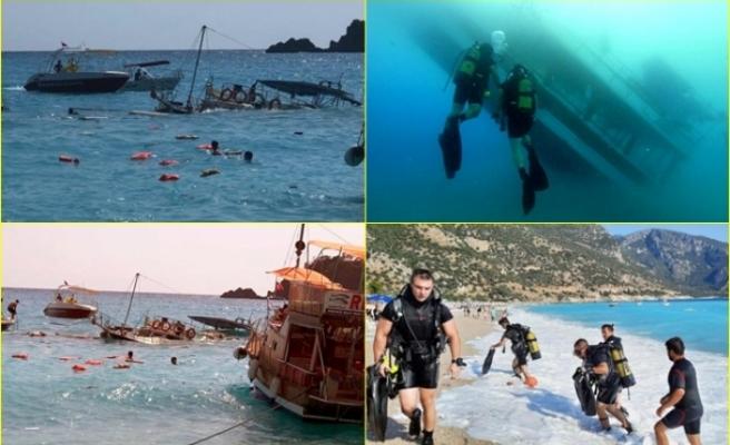 Fethiye'de 1 Çocuğun Öldüğü Batan Tur Teknesinin Kaptanı Gözaltına Alındı