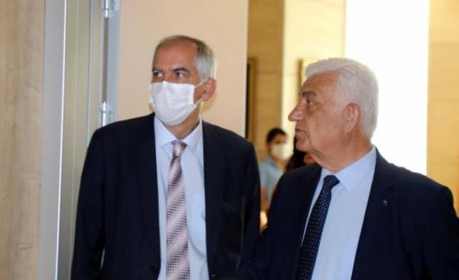 Fransa Büyükelçisi Magro'dan Başkan Osman Gürün'e Ziyaret