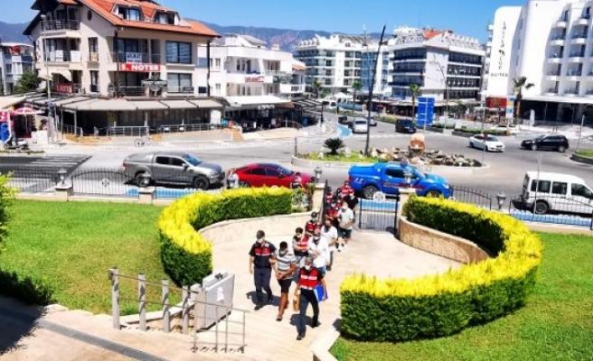 Marmaris'te FETÖ Üyesi 3 Şahıs Kaçamadan Yakalandı