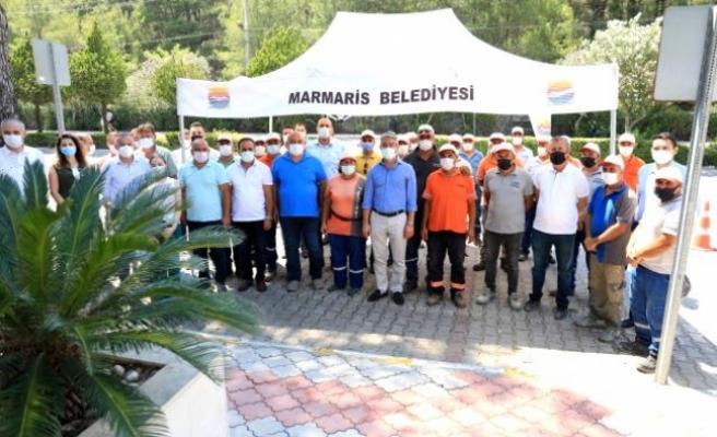 Marmaris'te Kadrolu İşçilere Yüzde 14.55 Zam