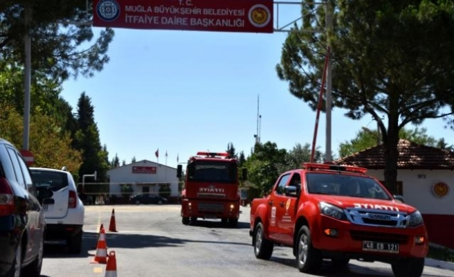 Muğla Büyükşehir'den Manavgat Yangınına Destek