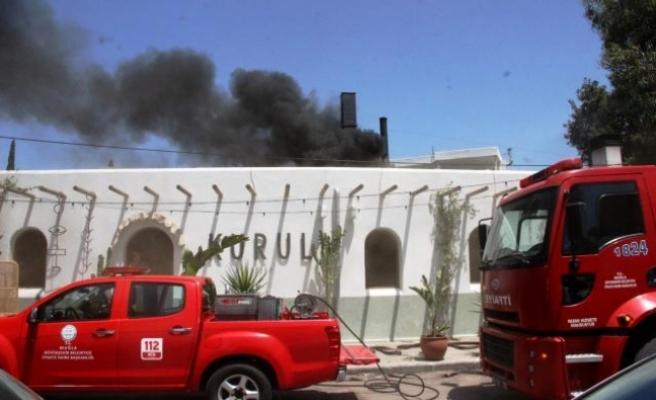 Oyuncu Kaan Çakır'ın Bodrum'daki Restoranında Yangın