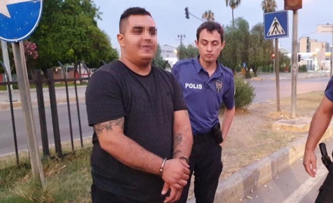 Polisten Kaçarken Çelik Yelekle Yakalandı