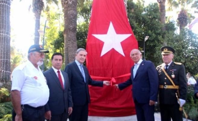 256 Bodrumlu Şehidin İsminin Yer Aldığı Anıt Törenle Açıldı