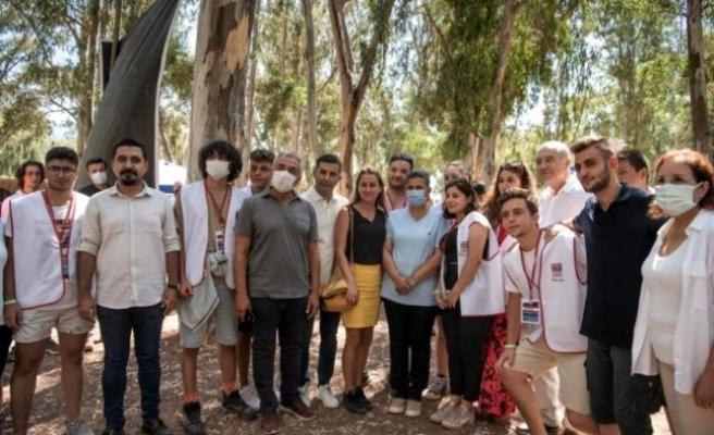 Başkan Çerçioğlu ve Günel Gençlerle Buluştu