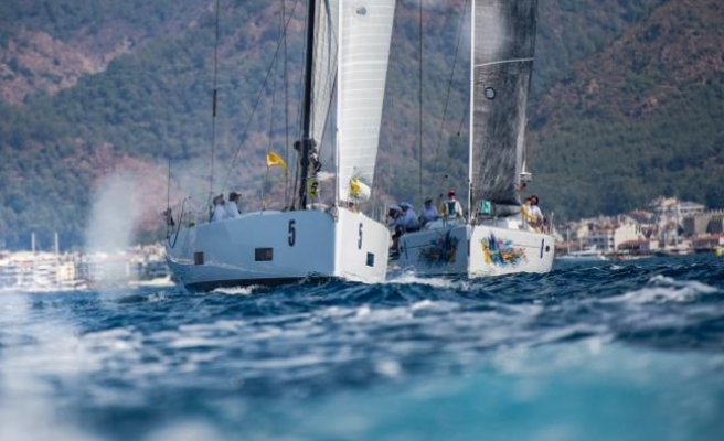 Marmaris'te HDI Loryma Cup Yelkenli Yat Yarışları Başladı