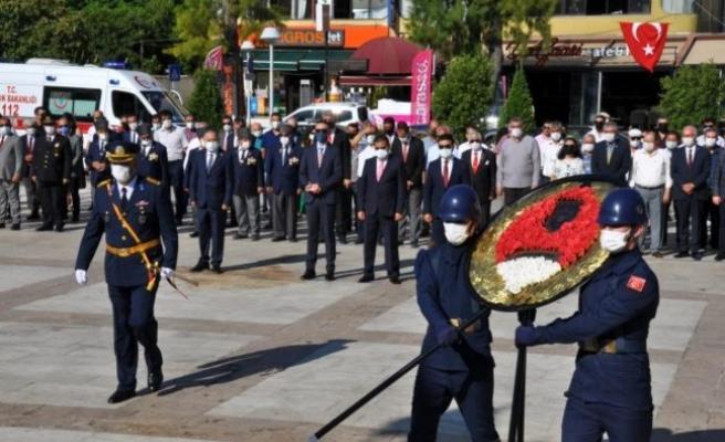 Milas'ta 30 Ağustos Zafer Bayramı Kutlandı