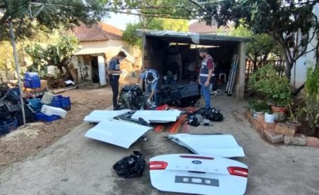 Milas'tan Çalınan 300 Bin TL'lik Otomobil, Antalya'da Parçalanmış Halde Bulundu