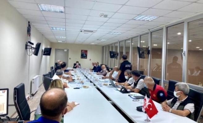 Muğla'da AFAD Koordinasyon ve Değerlendirme Toplantısı Yapıldı