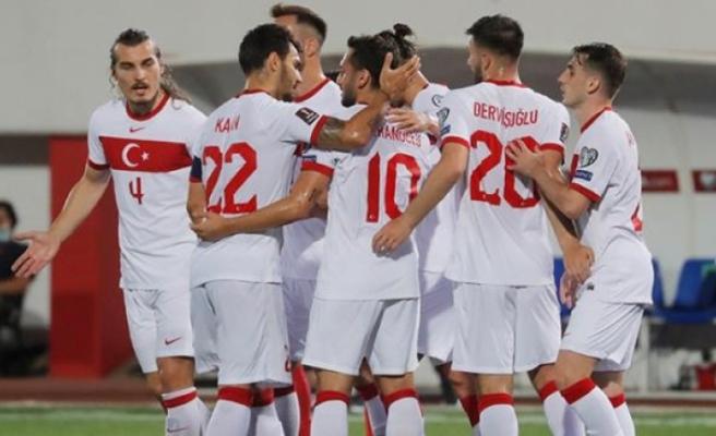 A Milli Takım, Deplasmanda Cebelitarık'ı 3-0 Mağlup Edebildi