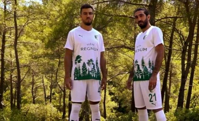 Bodrumspor'a Orman Temalı Forma!
