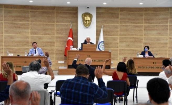 Muğla Büyükşehir  Belediye Meclisi Eylül Toplantısı Yapıldı