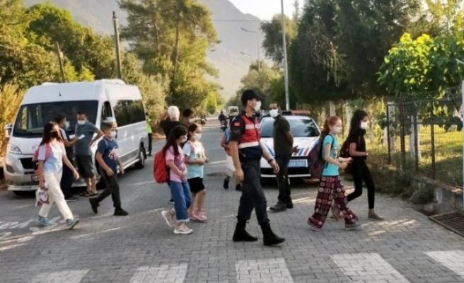 Muğla'da Jandarmadan Covid-19 Denetimi!