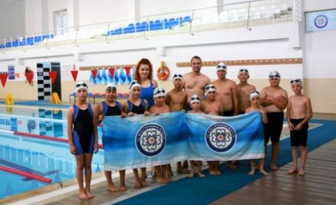 Muğla'da Minik Kulaçlar Havuzla Buluştu