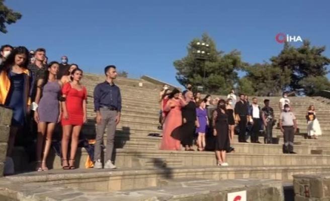 Muğla'da Turizm ve Sağlıkçılara Mezuniyet Töreni
