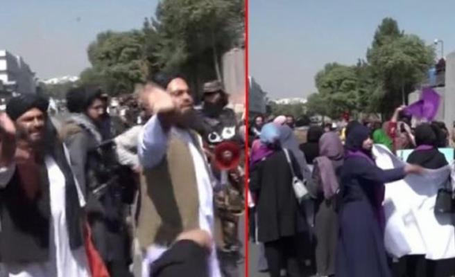 Taliban, Kabil'de Protesto Gösterisi Düzenleyen Kadınlara Şiddet Uyguladı