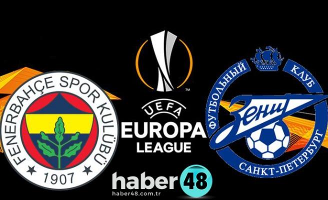 Fenerbahçe Zenit Maçı Hangi Kanalda, Saat Kaçta?