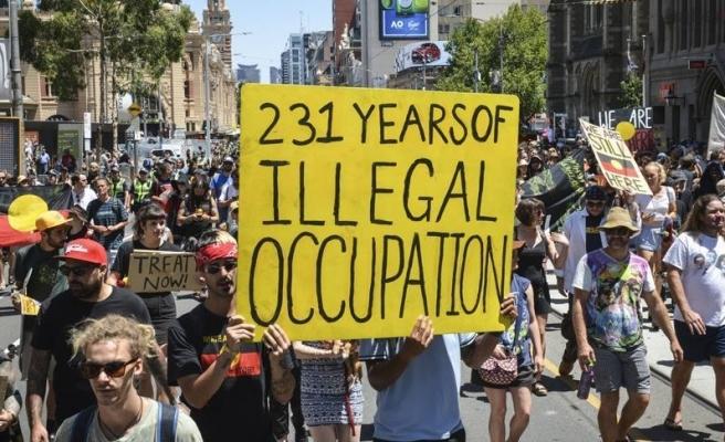'Avustralya Günü' protesto edildi