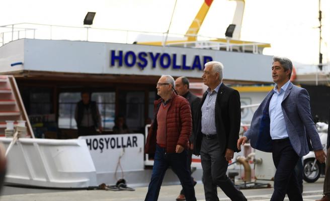 MARMARİS'TE CHP'Lİ İKİ BAŞKANA SEVGİ SELİ