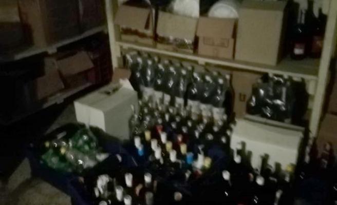 MARMARİS'TEKİ OTELE SAHTE İÇKİ OPERASYONU: 900 ŞİŞE SAHTE İÇTİ, 1 GÖZALTI