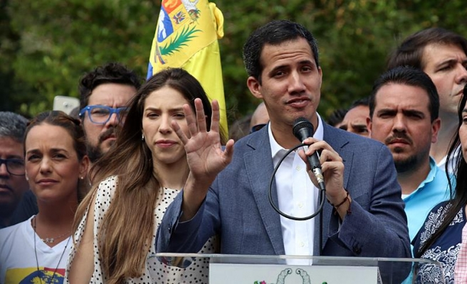 İsrail de Guaido'yu Venezuela'nın 'geçici başkanı' olarak tanıdı