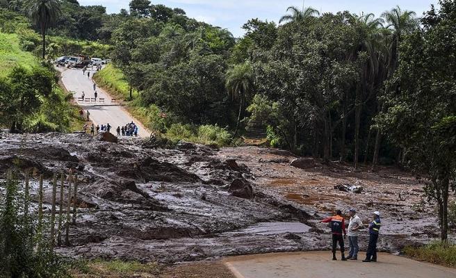 Brezilya'da barajın çökmesi sonucu ölenlerin sayısı 84'e yükseldi