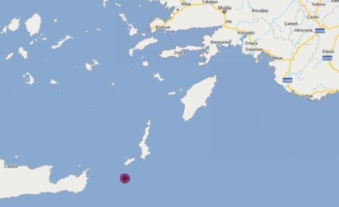 Girit Adası Açıklarında 4,4 Büyüklüğünde Deprem