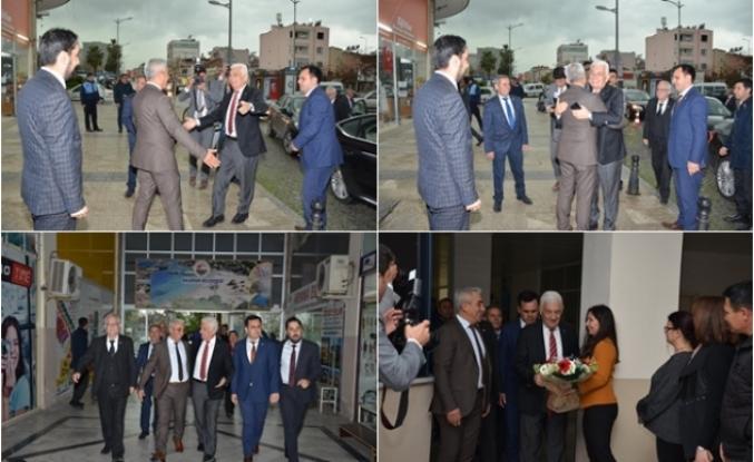 MBB Başkanı Osman Gürün Başkan Karakuş'u Ziyaret Etti