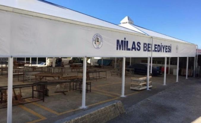 Milas'ta Pazaryerleri Kapanıyor