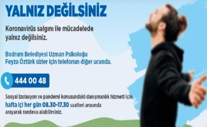 Bodrum'da Koronaya Karşı Psikolojik Danışmanlık Hattı Kuruldu