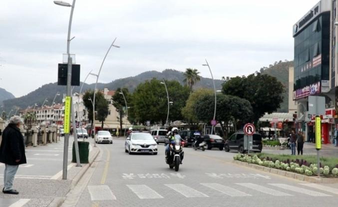 Marmaris'te Polis Ekiplerinden Sokak Sokak 'Evde Kalın' Çağrısı