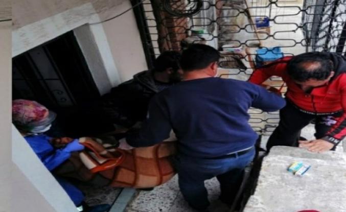 Yaşlı Kadın Mutfak Tüpünden Sızan Gazdan Zehirlendi