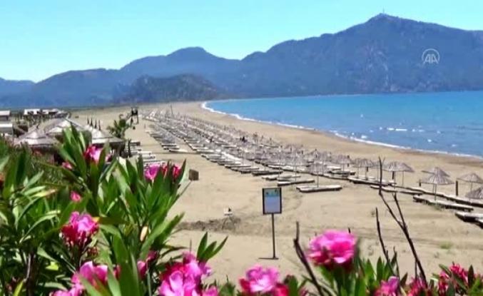İztuzu Plajı Gece Caretta Carettaları Ağırlıyor