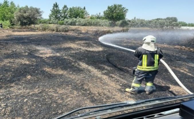 Seydikemer'de Paniğe Neden Olan 4 Ayrı Yangın Söndürüldü