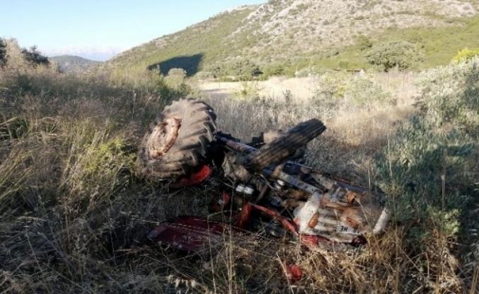 Seydikemer'de Traktör Devrildi: 1 Ölü 1 Yaralı!