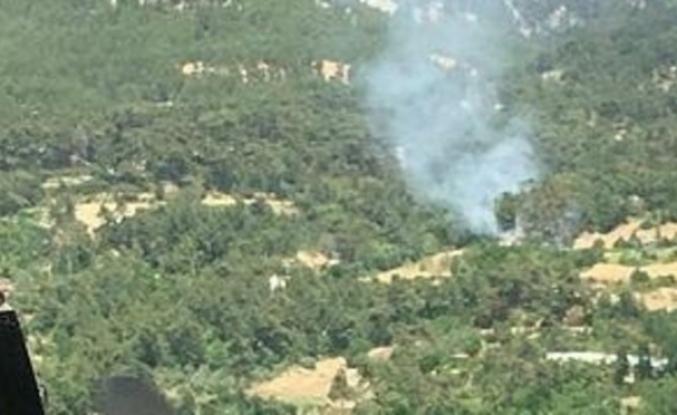 Seydikemer'de Çıkan Orman Yangını Söndürüldü