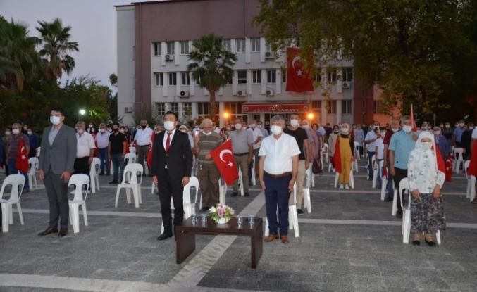 Köyceğiz'de 15 Temmuz Demokrasi ve Milli Birlik Günü Kutlamaları