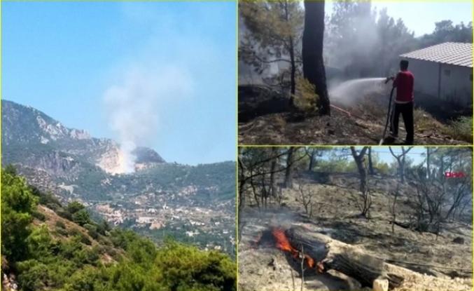 Datça'daki Orman Yangını Kontrol Altına Alındı