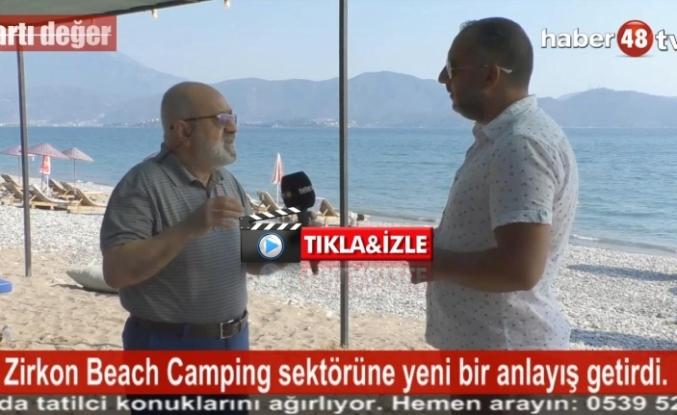 """EV KONFORUNDA BİR TATİL İÇİN """"ZİRKON BEACH CAMPİNG"""" FETHİYE'DE!"""