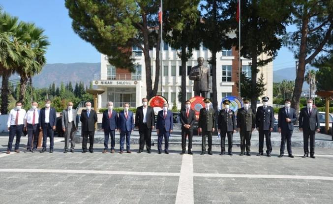 Köyceğiz'de 30 Ağustos Zafer Bayramı' nın 98.Yıldönümü Kutlandı