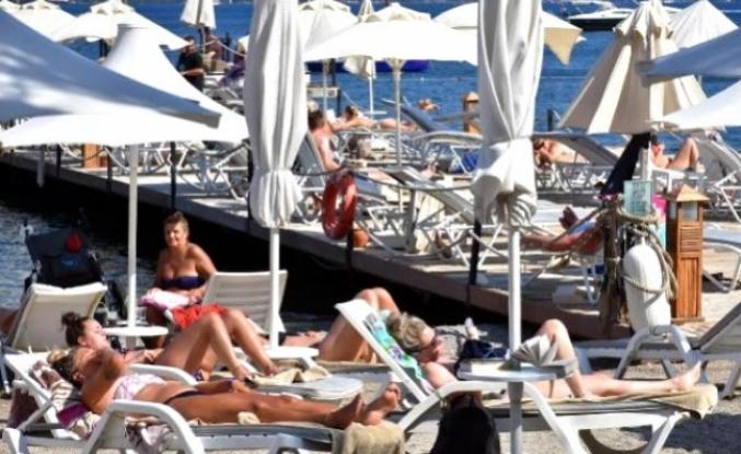Marmaris'te Turistler Güvenli Ve Huzurlu Tatil Yapıyor