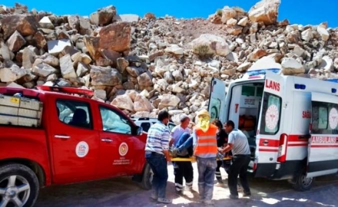 Yatağan'daki Bir Mermer Ocağında İş Kazası: 2 Yaralı