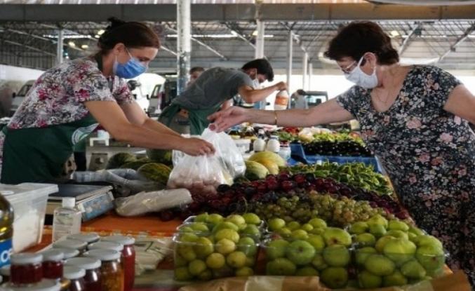 Bodrum'da Üretici Pazarına İlgi Her Geçen Gün Artıyor