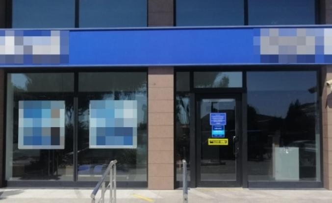 Menteşe'de Bir Banka Koronavirüs Nedeniyle Kapatıldı