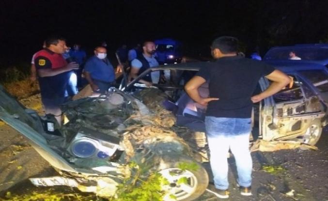 Ortaca Dikmekavak'ta Yaşanan Kazada Sürücü Araçta Sıkıştı!