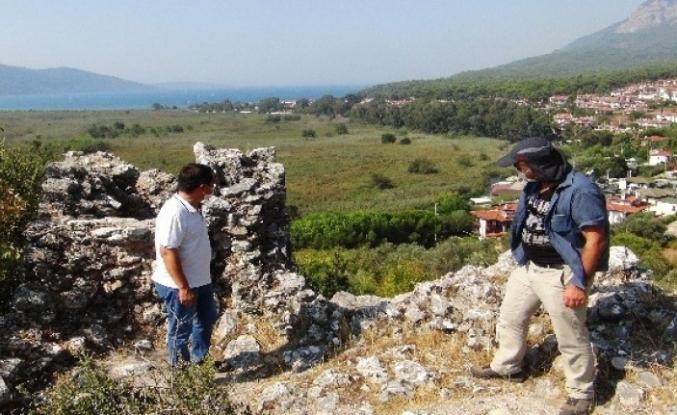 'Sakin Kent'teki Ortaçağ Kalesinde Kazı Çalışmaları Başladı