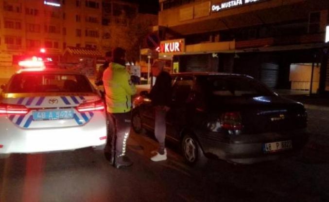 Menteşe'de Bir Vatandaş Sokağa Çıkma Kısıtlamasında Alkollü Yakalandı