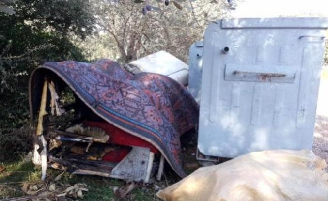 Bodrum'da, Çardakta Çıkan Yangına Uykuda Yakalanan Yaşlı Adam Vefat Etti