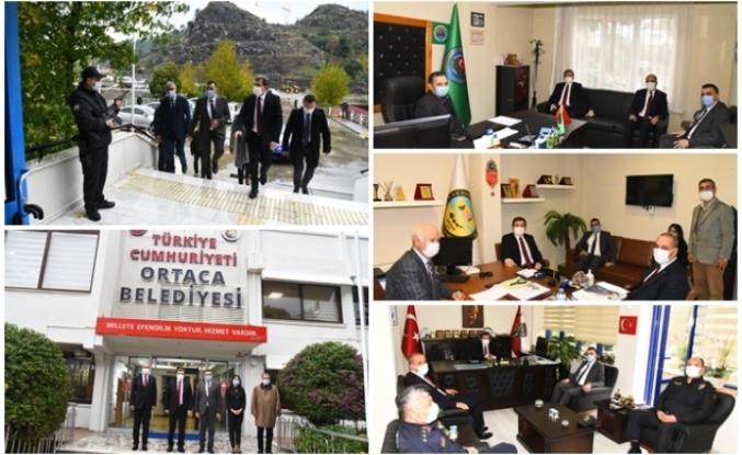 Muğla Valisi Orhan Tavlı Ortaca'da Ziyaretlerde Bulundu
